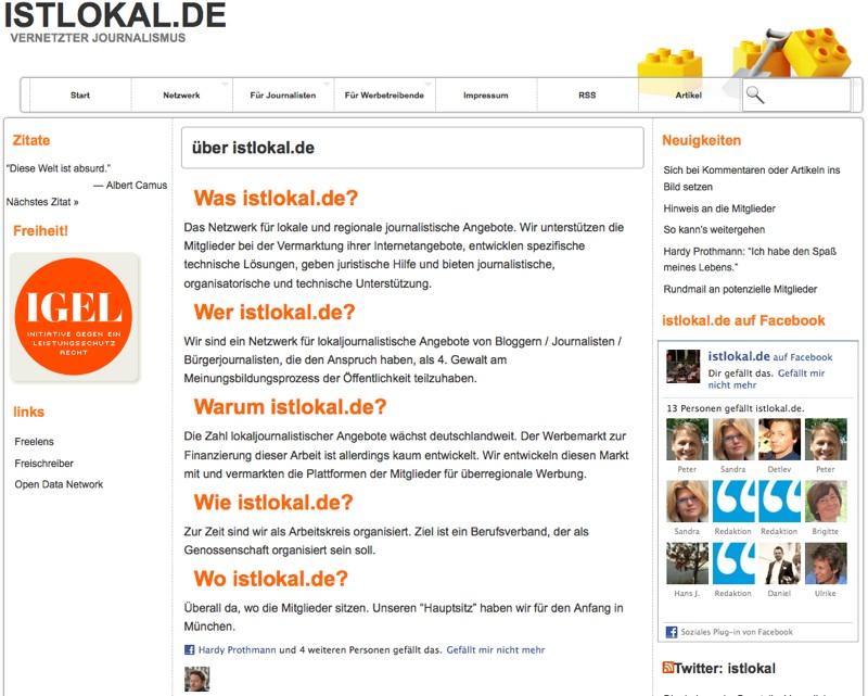 In eigener Sache: rheinneckarblog istlokal.de