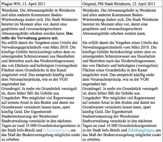 """Plagiator-Formel: Dreist, dreister, Journalist – wie Tageszeitungen tagtäglich """"bescheißen"""""""
