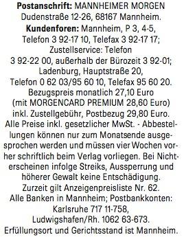 """Zeitungsstreik: """"Finger weg vom Mantel"""""""