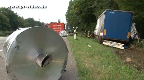 Lkw Unfall A5 Heute Morgen