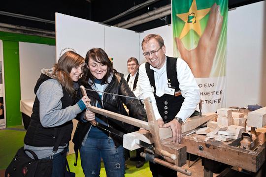 Heidelberger Ausbildungstage 2011: Berufe zum Anfassen
