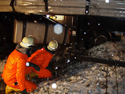 Weinheimer Feuerwehr mit Bergungen gefordert
