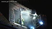 Schwetzingen: 200.000 Euro Sachschaden durch Dachstuhlbrand
