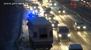 30 Unfälle – 90.000 Euro Schaden – zwei leicht verletzte Personen
