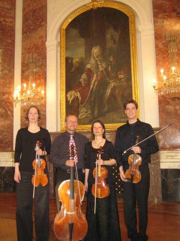 """Concerti e piú"" mit dem Mannheimer Hofquartett"