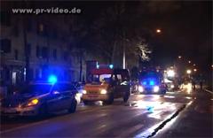 Mannheim-Neckarstadt: Wohnung in Flammen