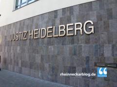 Tätlicher Angriff auf Justizwachtmeister am Amtsgericht Heidelberg