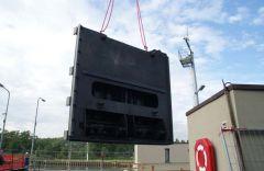 Neue Tore für die Schleuse Feudenheim