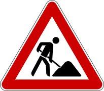 Baumaßnahmen und Verkehrsbehinderungen