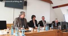 Neckarbrücke: Positionen, Realitäten, Aussichten