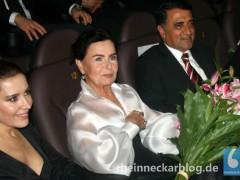 Schauspielerin Ayten Soykök, Fatma Girik und Mustafa Baklan bei der Eröffnung des 21. TürkFilmFestivali