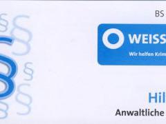 Weisser Ring hilft ca. 80 Opfern aus Mannheim