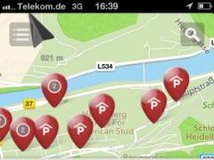 """Parkhausfinder für die App """"Mein Heidelberg"""""""