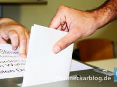 Bundestagswahl in Heidelberg