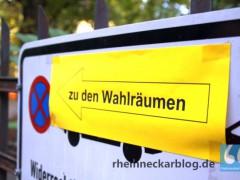 Die Bundestagswahl im Wahlkreis Bergstraße