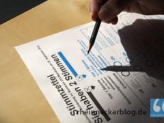 Unsere Wahlempfehlung für Mannheim
