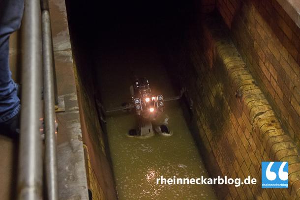 Kanalreinigung: Heute erledigt das ein unbemannter Reinigungsschlitten.