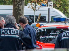Großeinsatz der Polizei wegen mutmaßlich bewaffnetem Mann