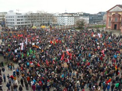 """Fotostrecke zur Großkundgebung """"Mannheim sagt Ja"""""""