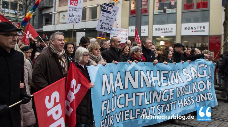 Mannheim Demonstration