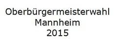 OB Peter Rosenberger (CDU) soll gegen OB Dr. Peter Kurz (SPD) antreten