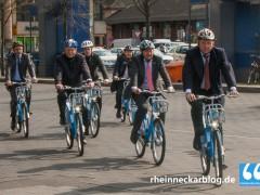 Fahrradvermiet-System offiziell gestartet