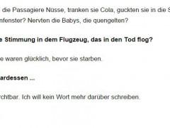 Mit Verlaub, Herr Wagner, Sie sind widerlich!