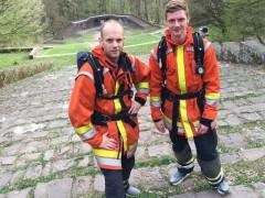 Dossenheimer Feuerwehrmänner auf Wettkampf in Berlin