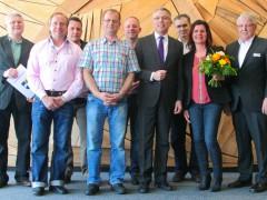 Landratsamt Rhein-Neckar-Kreis ehrt Jubilare