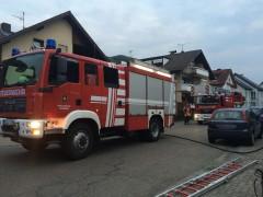 Wohnungsbrand in Schriesheim