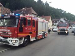 In Oberflockenbach wird der Fastnachtshaufen verbrannt