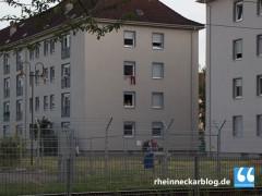 Brandmelder in Flüchtlingsunterkunft angezündet