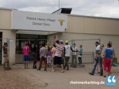 Nach Massenschlägerei: Drei Verletzte im Patrick-Henry-Village