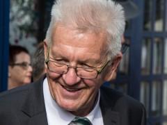 """Das Kabinett """"Kretschmann II"""" steht"""
