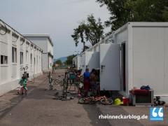 Mehr Container für Flüchtlinge