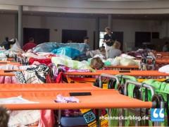 Kreissporthalle Wiesloch wird Notlager