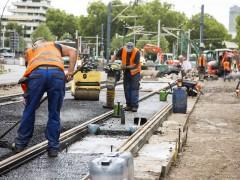 Ausbau der Kurfürsten-Anlage im Zeitplan