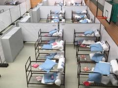 Notquartier für 120 Flüchtlinge