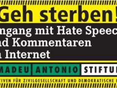 Hass ist nie eine Meinung