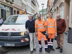 Bei der Stadt Heidelberg auf dem Ersten  Arbeitsmarkt Fuß gefasst