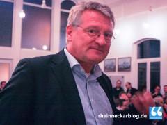 Jörg Meuthen und sein neuer nuntius brutus funditus