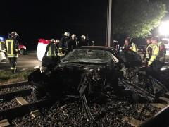 Schwerer Verkehrsunfall auf B 3