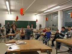 Freundliche Farben, Chill-Raum und Lernbüro