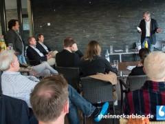 Redaktionskonferenz in der Sauna