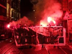 Antifagruppen rufen offen zur Gewalt auf