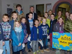 Heppenheimer Kinder sammeln Klimameilen