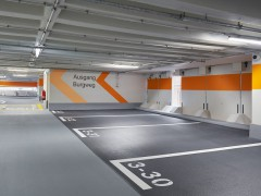 Parkhaus P12 Kornmarkt/Schloss öffnet wieder