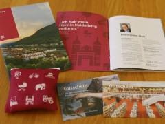 Infos und Geschenke erwarten neue Heidelberger