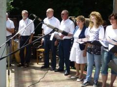Gesangsklasse präsentiert Früchte des Unterrichts