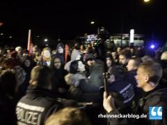 Appell der Polizei: Bleibt friedlich